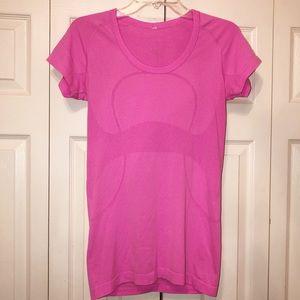 Lululemon Pink Swiftly Tee - Size 6